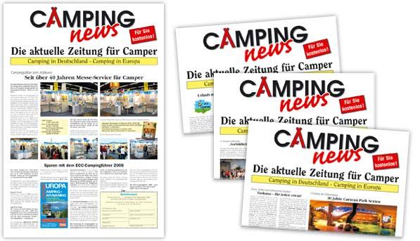 Camping news Zeitung